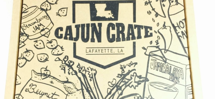 Cajun Crate August 2016 Subscription Box Review + Coupon