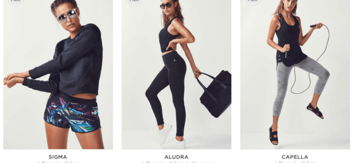 August 2016 Fabletics Selection Time! + First Outfit 50% Off!