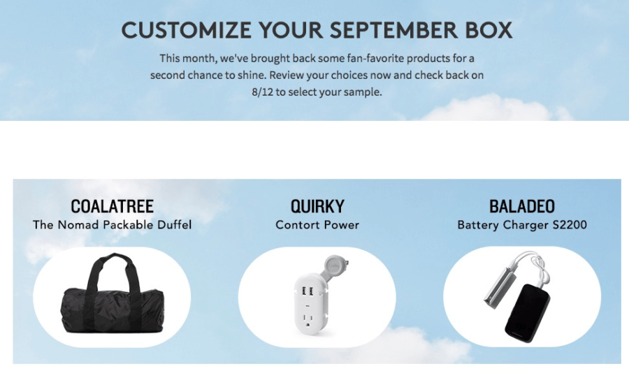 September 2016 Birchbox Man Spoilers & Coupon – Sample Choice, Power Play Items