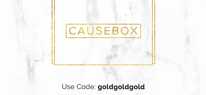 Causebox Coupon – Save $10, Today Only!