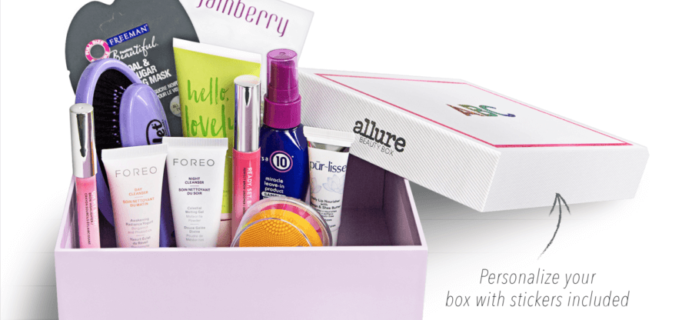 Allure x Teen Vogue Back to School Beauty Box!