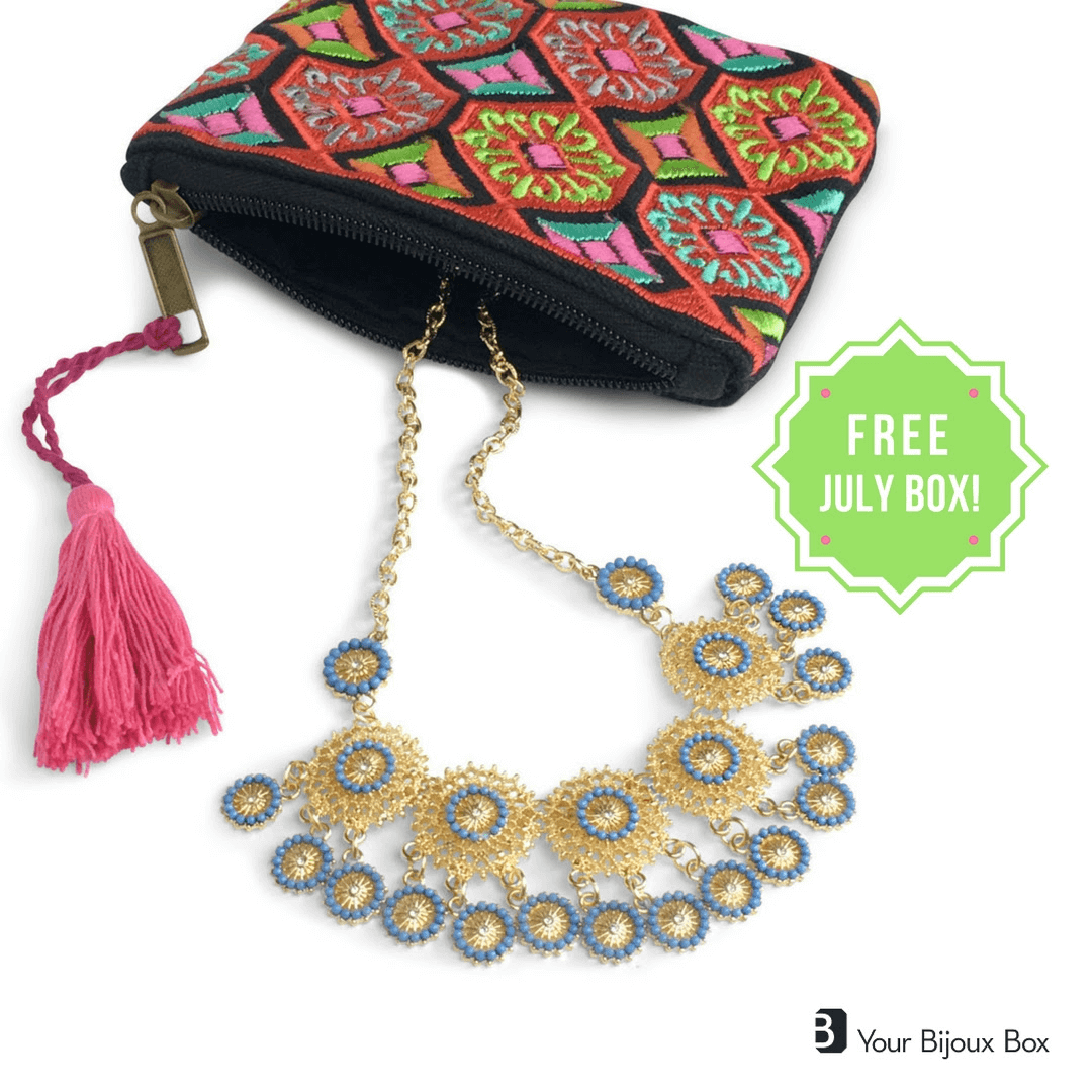 Coupon: Free Your Bijoux Box with 3-month Subscription!