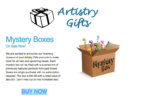 Artistry Gifts Mystery Boxes Available Now!