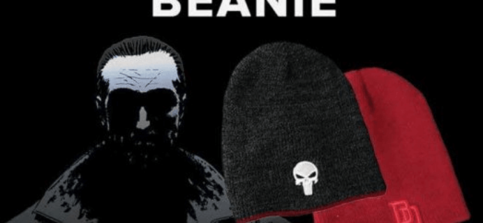 Free Punisher & Daredevil Reversible Beanie with Loot Socks Subscription!