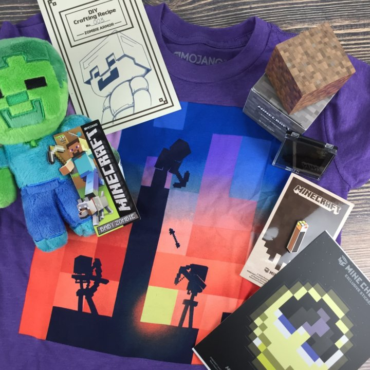 Mine Chest August 2016 Subscription Box Review – Survive the Night