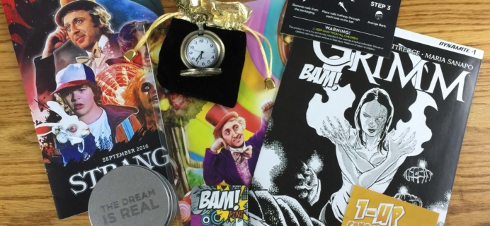 The BAM! Box September 2016 Subscription Box Review & Coupon