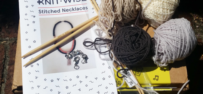 Knit-Wise Subscription Box Review – September 2016