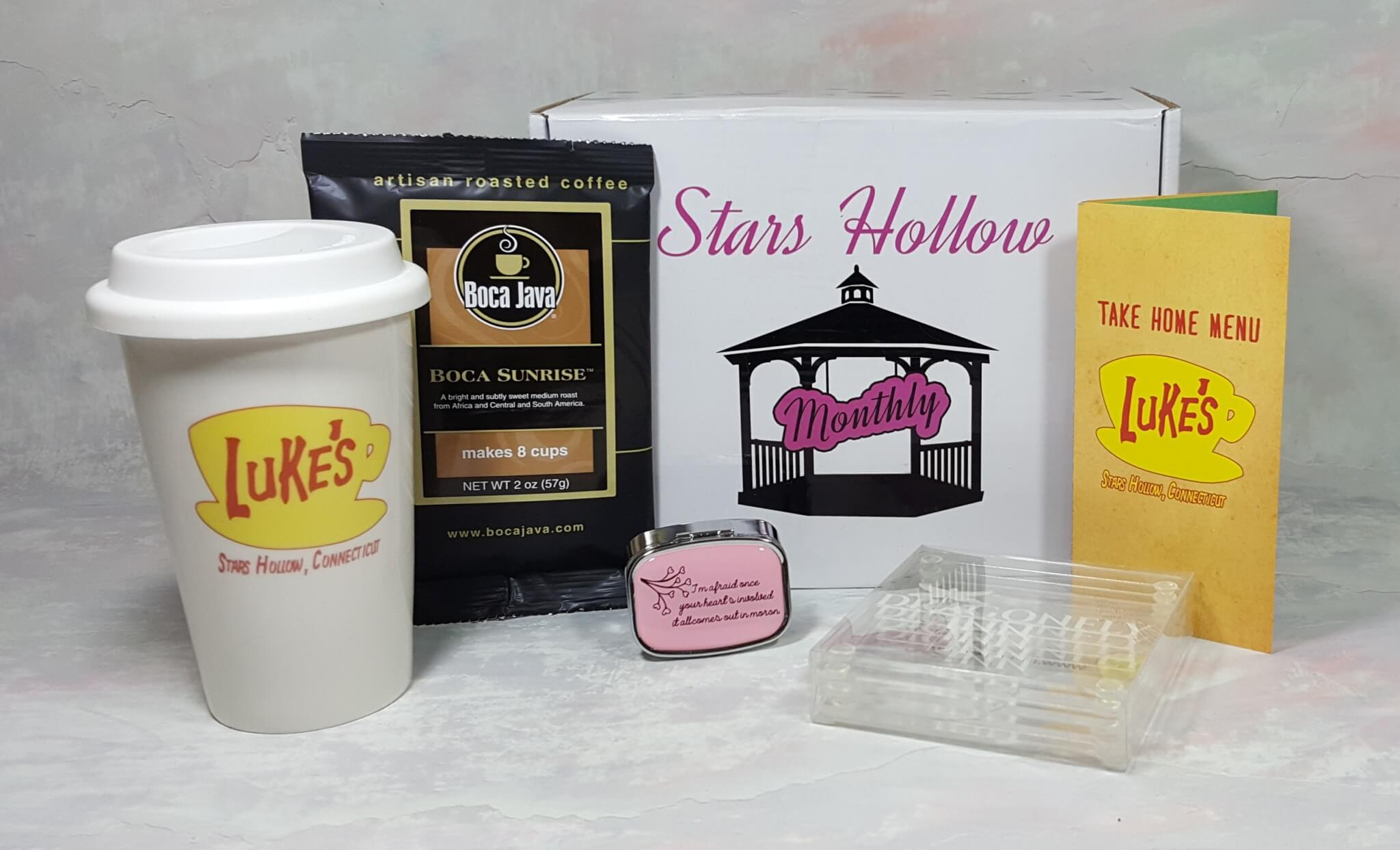 Stars Hollow Monthly August 2016 Subscription Box Review