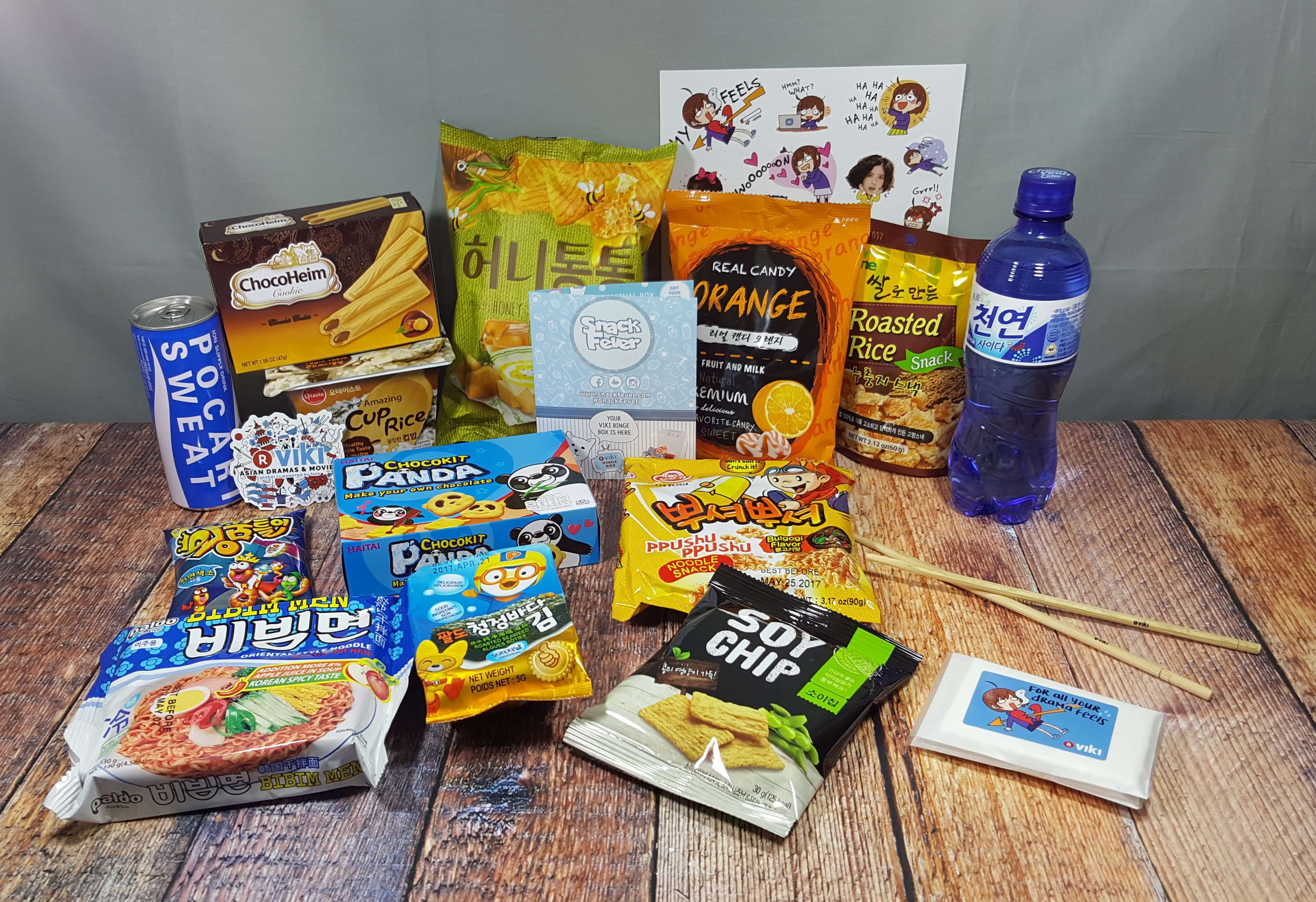 August 2016 Snack Fever Subscription Box Review + Coupon – Deluxe Box!