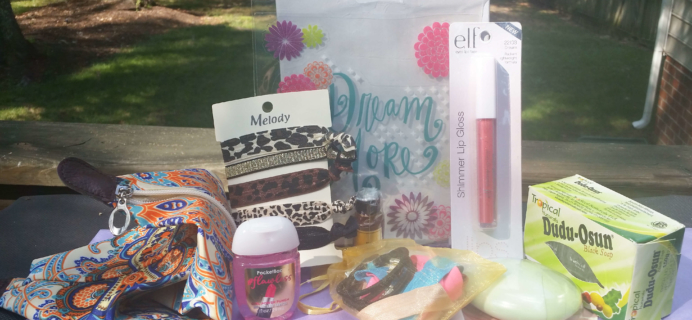 LYFnow (Love Yourself First) Teen Subscription Box Review – September 2016
