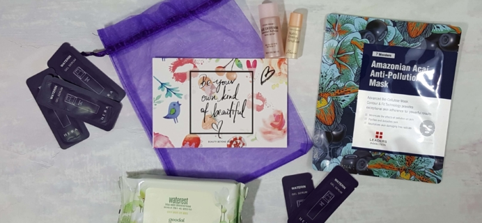 3B Box Subscription Box Review – August 2016