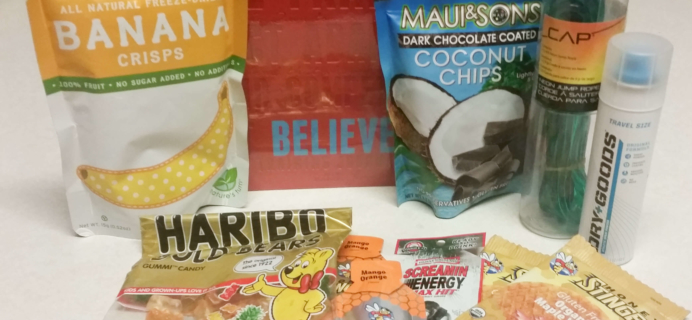 Runner Crate Subscription Box Review & Coupon – August 2016