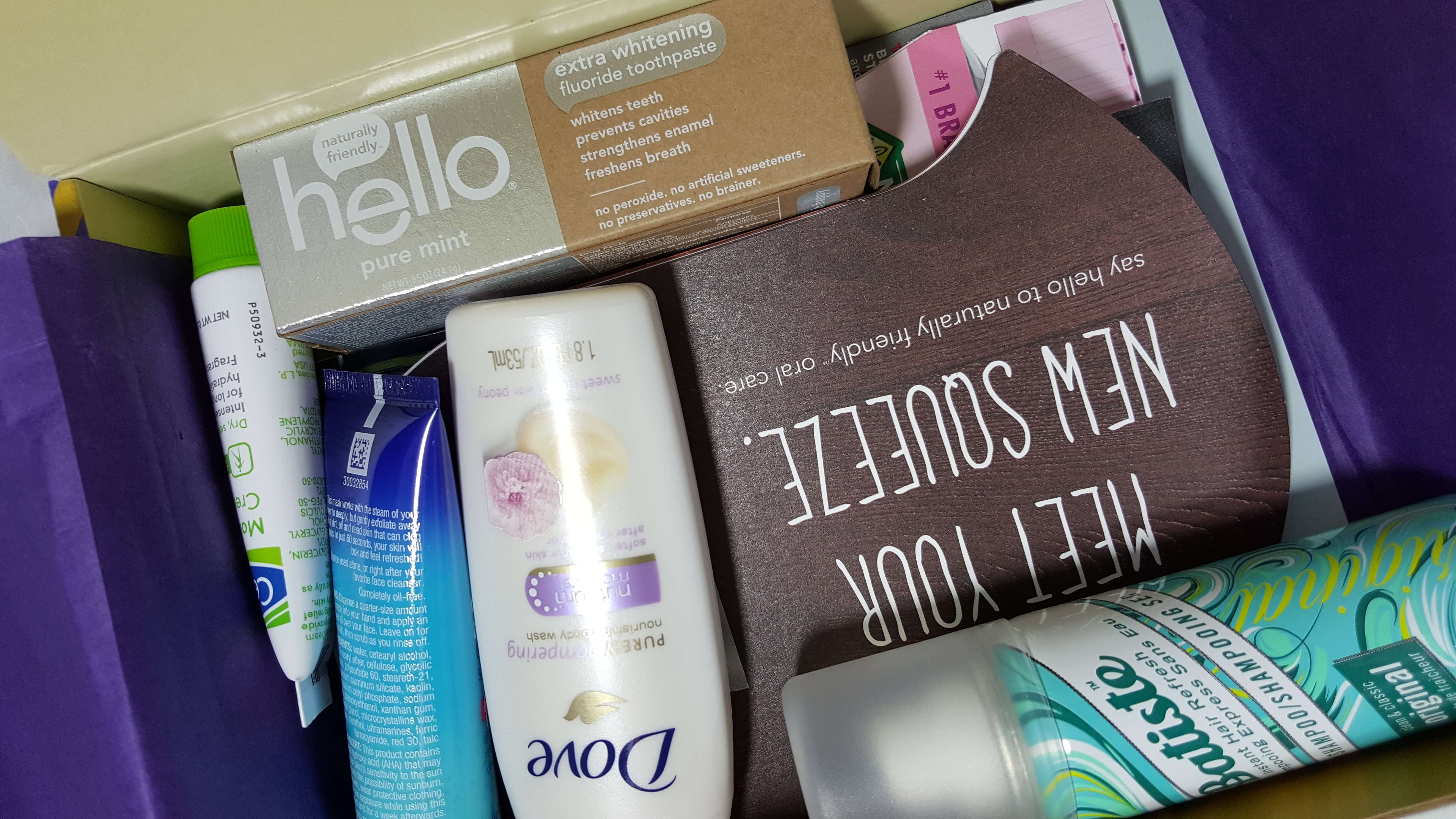 Walmart Beauty Box Subscription Box Review – Fall 2016 Trendsetter Box