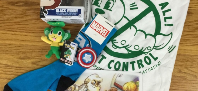 My Geek Box August 2016 Subscription Box Review