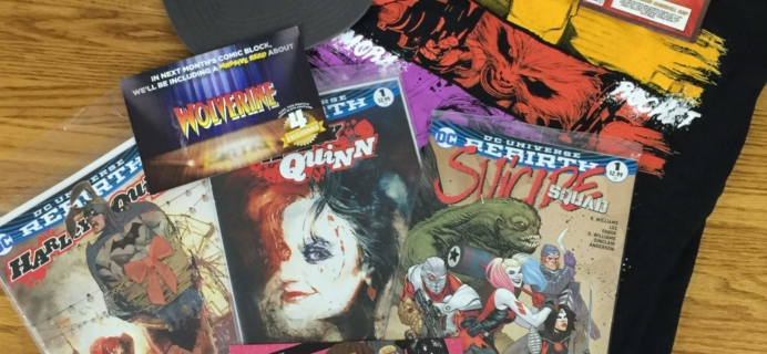 Comic Block Subscription Box Review & Coupon – August 2016