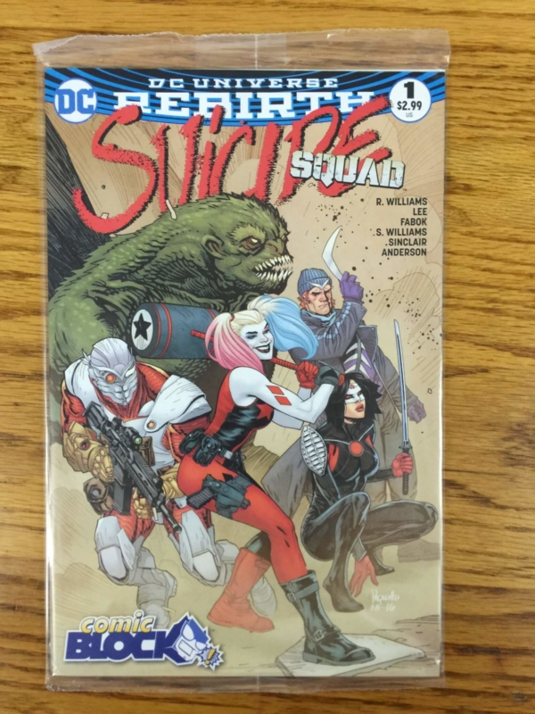 1042fcf6ec9 Suicide Squad  1 (2016) Variant Cover –  2.99. How awesome is this cover   This is only available from Comic Block as…look at the cover!