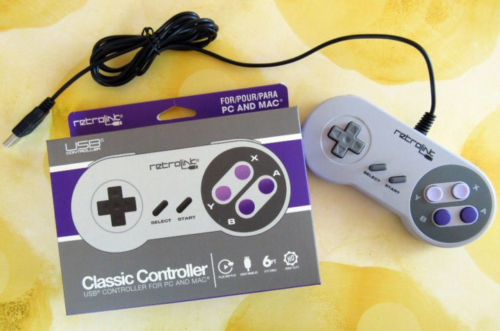 USB Game Controller - SNES Edition