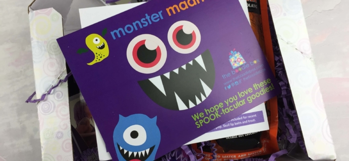 Boodle Box October 2016 Subscription Box Review