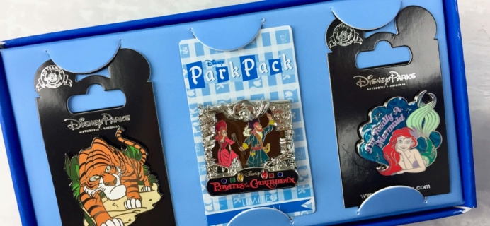 Disney Park Pack September 2016 Subscription Box Review – Pin Trading Edition