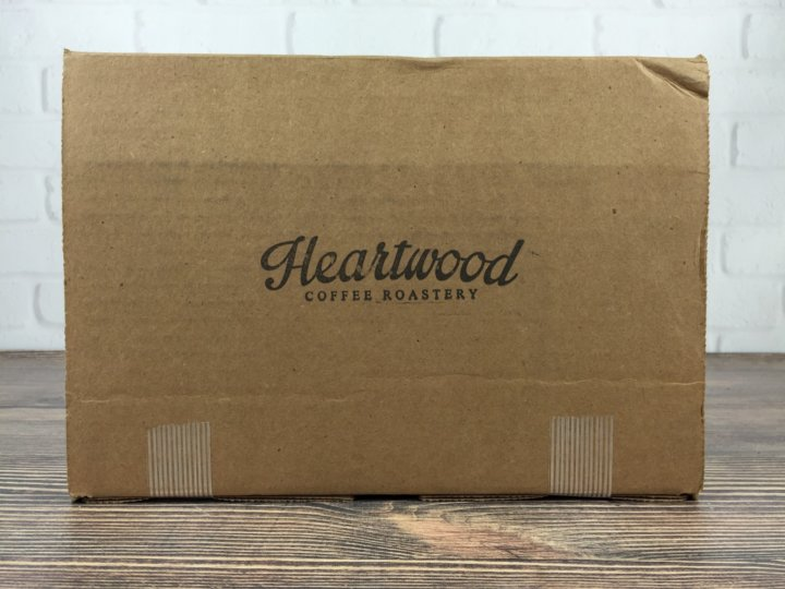 Heartwood Coffee Club September 2016 box