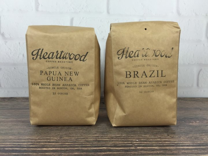 Heartwood Coffee Club September 2016 review