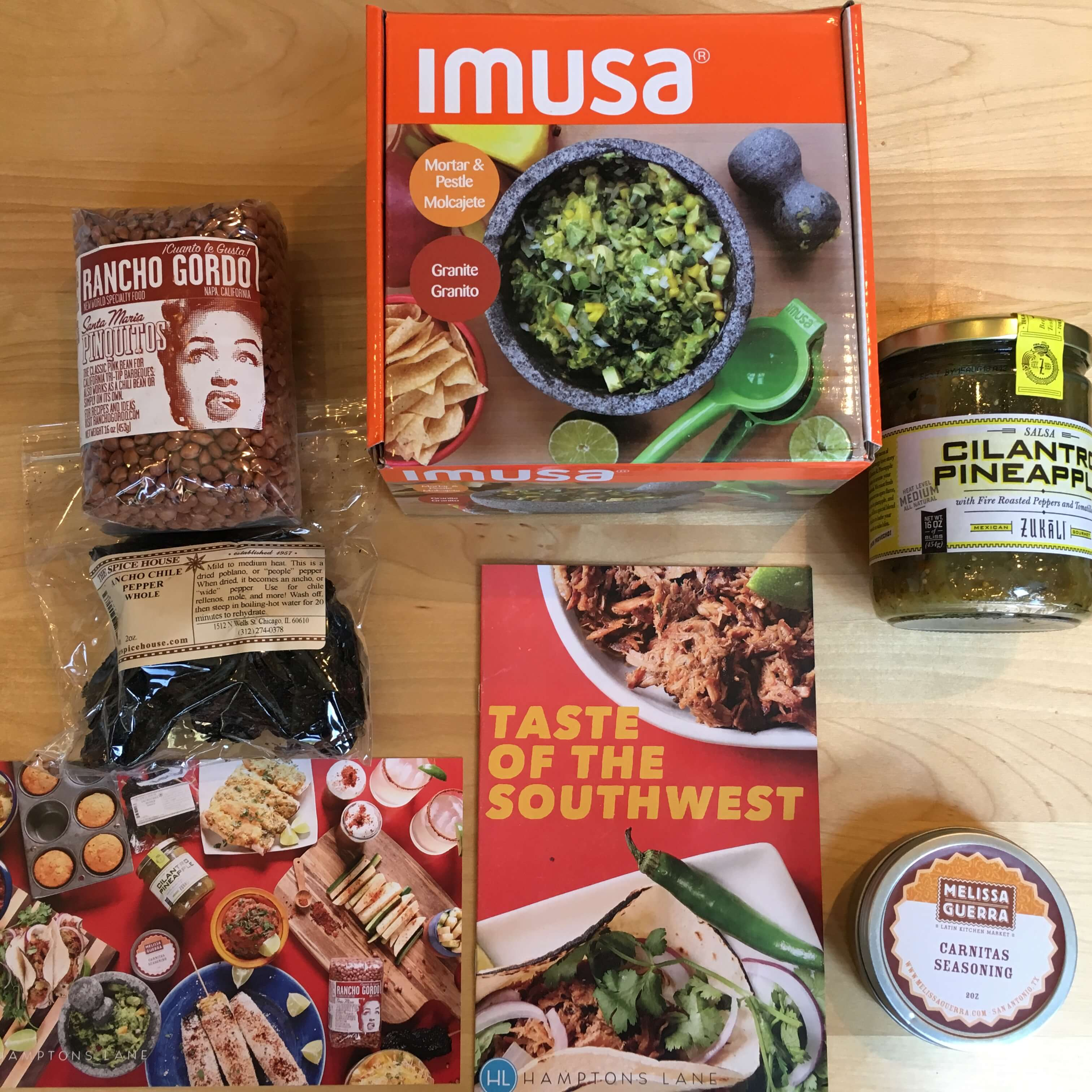 Hamptons Lane Subscription Box Review & Coupon: Taste of the Southwest Box