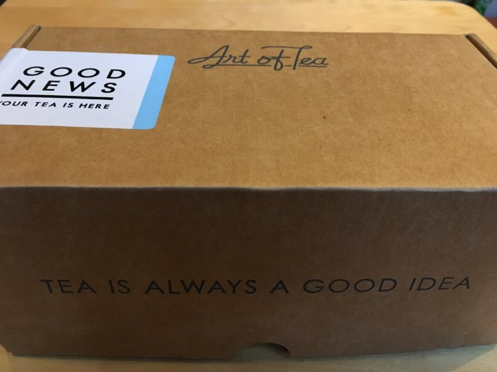 art of tea september 2016 subscription box review coupon hello