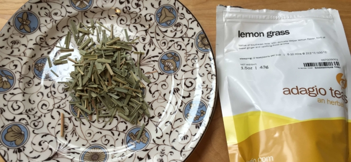 Adagio Teas September-October 2016 Subscription Box Review