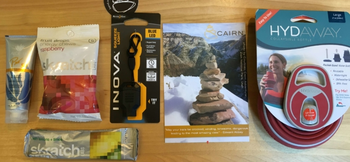 Cairn September 2016 Subscription Box Review