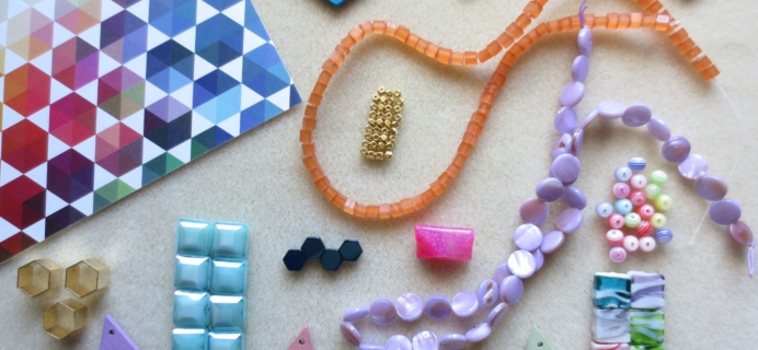 Blueberry Cove Beads Subscription Box Review – September 2016