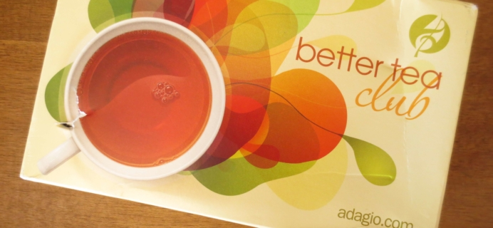 Better Tea Club by Adagio Teas Subscription Box Review – September 2016