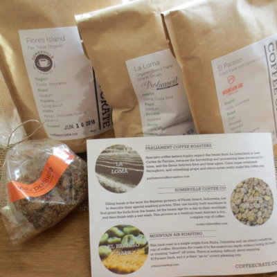 Coffee Crate Subscription Box Review + Coupon