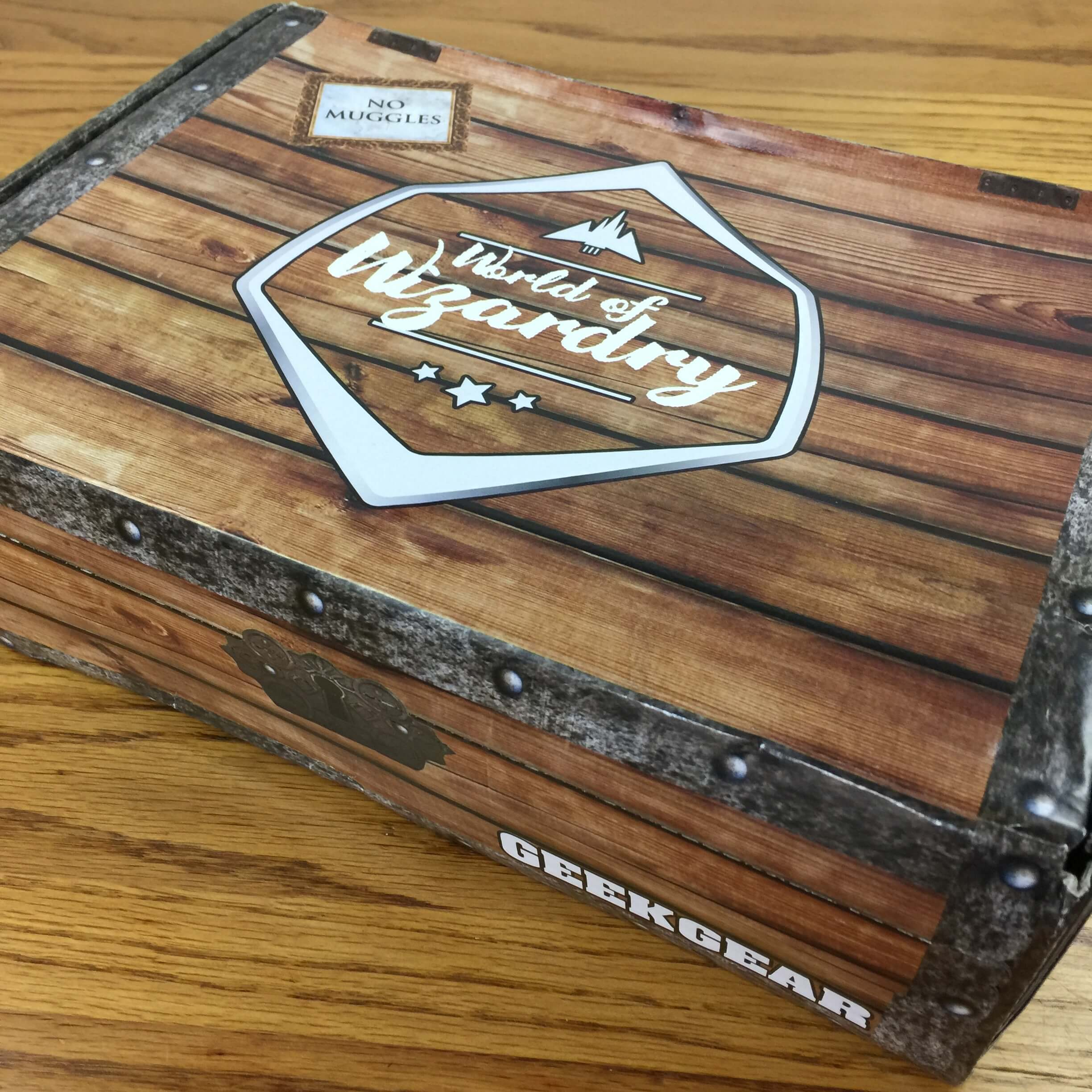 Geek Gear World of Wizardry September 2016 Subscription Box Review