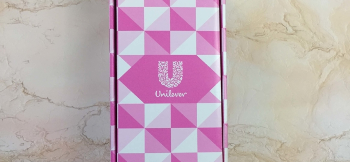 Unilever Trends Limited Edition Topbox Subscription Box Review