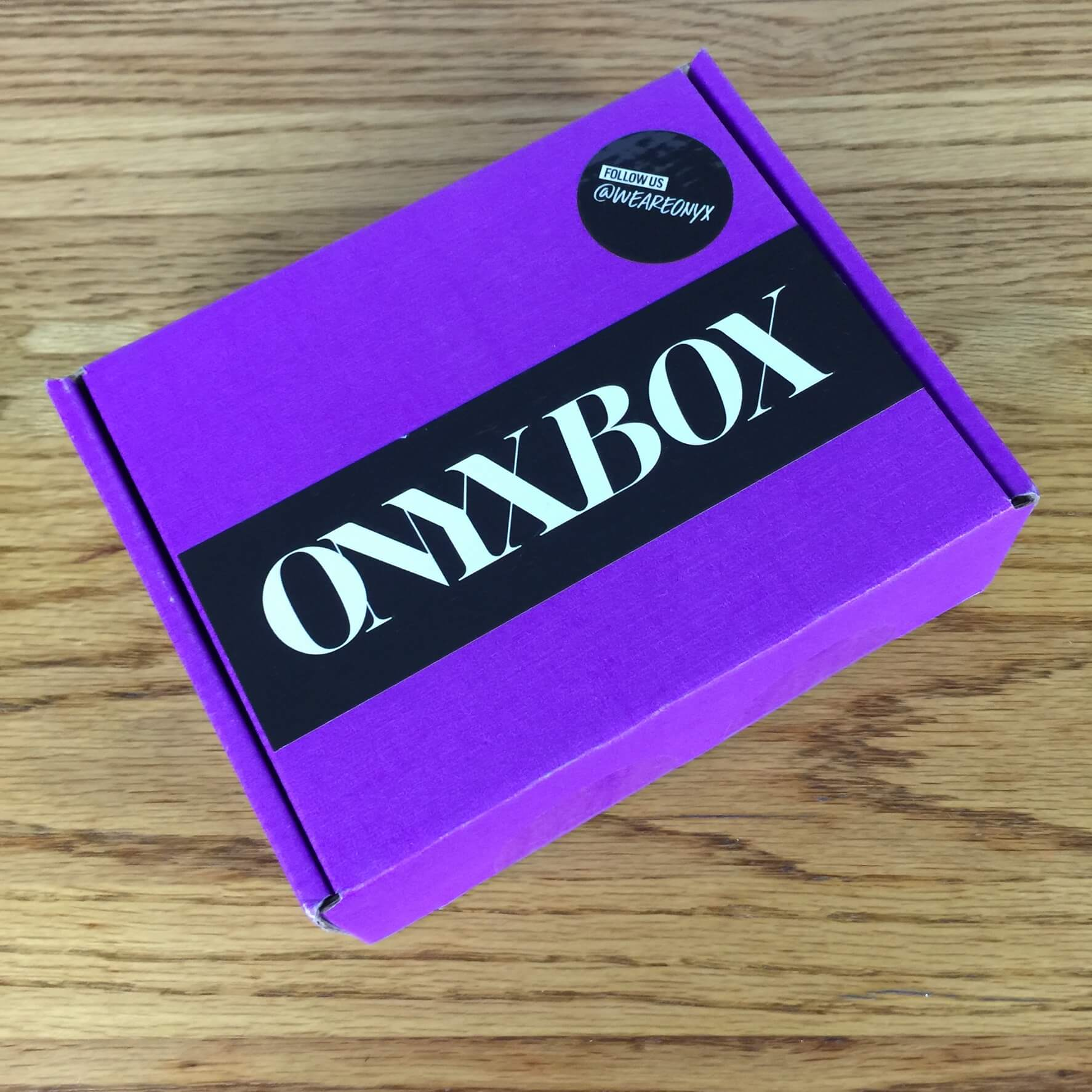 We Are Onyx ONYXBOX September 2016 Subscription Box Review