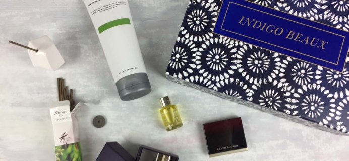 Indigo Beaux September 2016 Subscription Box Review