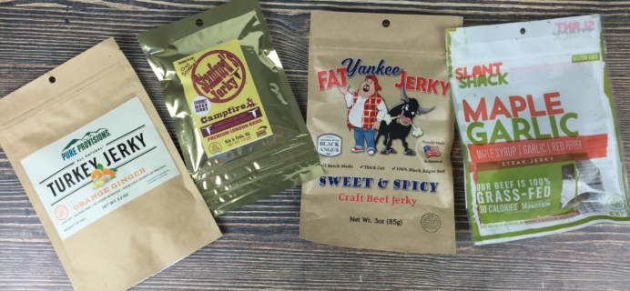 Jerky Snob September 2016 Subscription Box Review