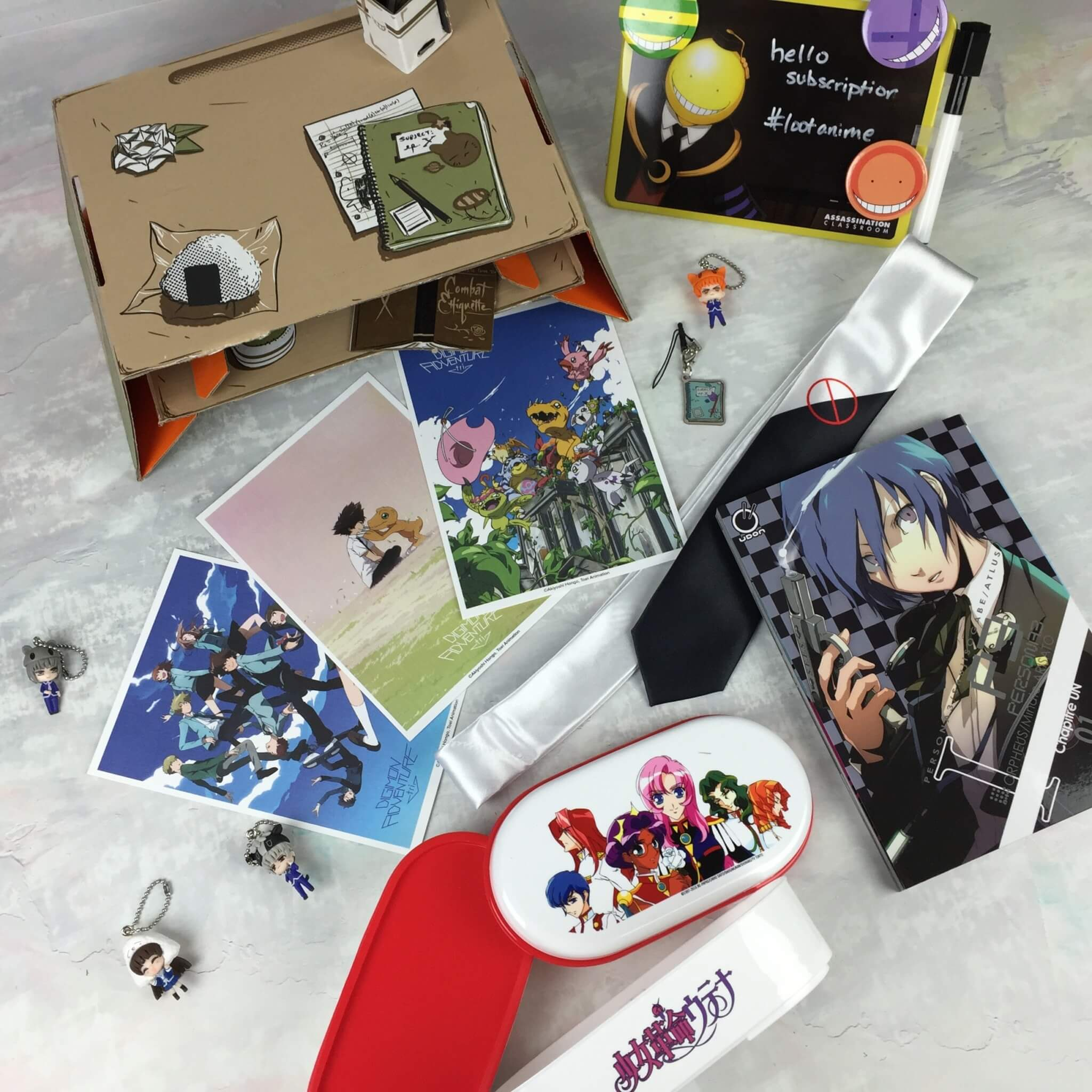Loot Anime August 2016 Subscription Box Review & Coupons: BACK TO SCHOOL