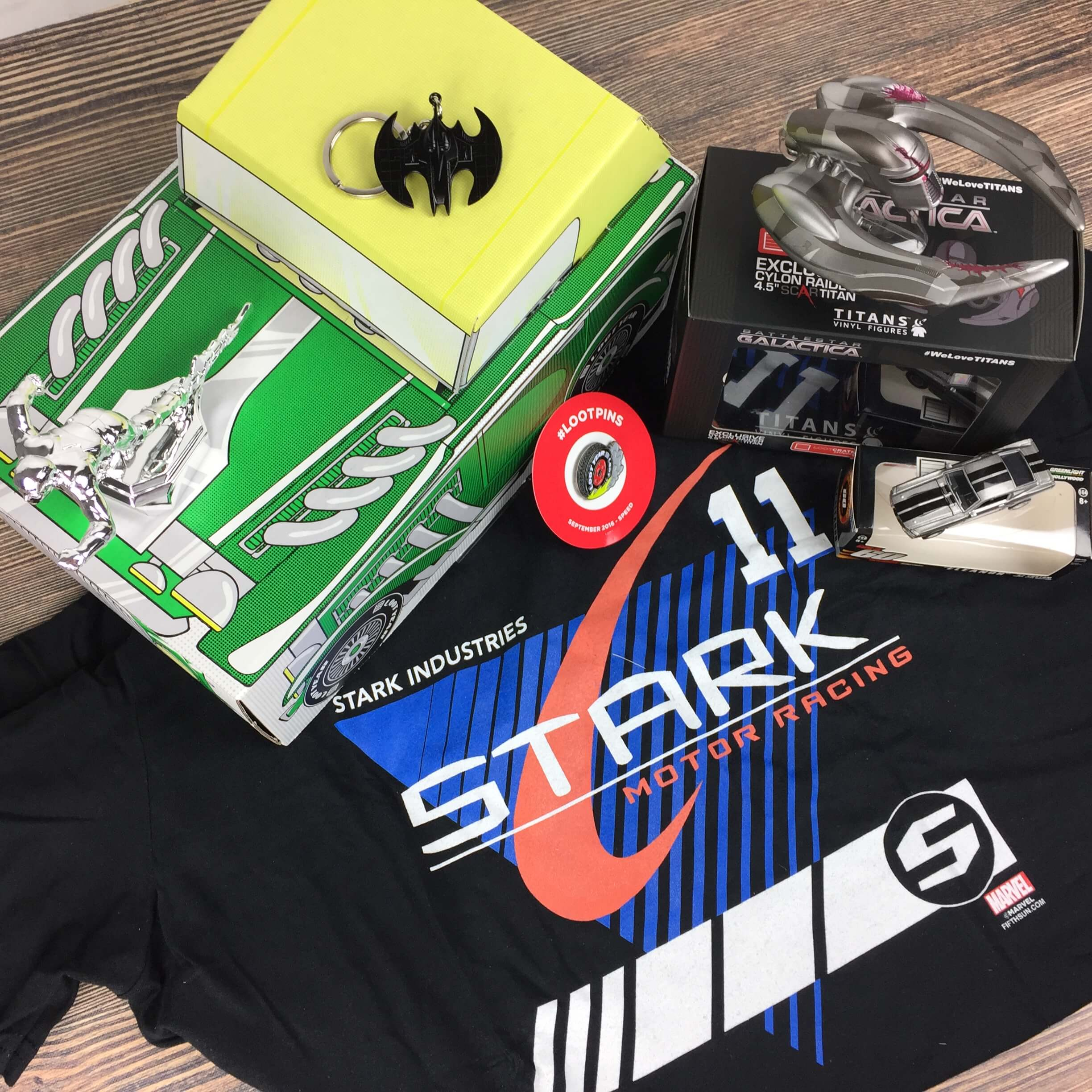 Loot Crate September 2016 Review + Coupons – SPEED
