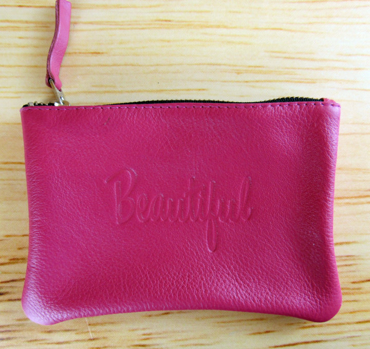 "Jesse *& Co ""Beautiful"" Word Pouch"