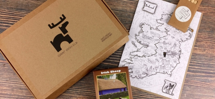 My Ireland Box September 2016 Subscription Box Review