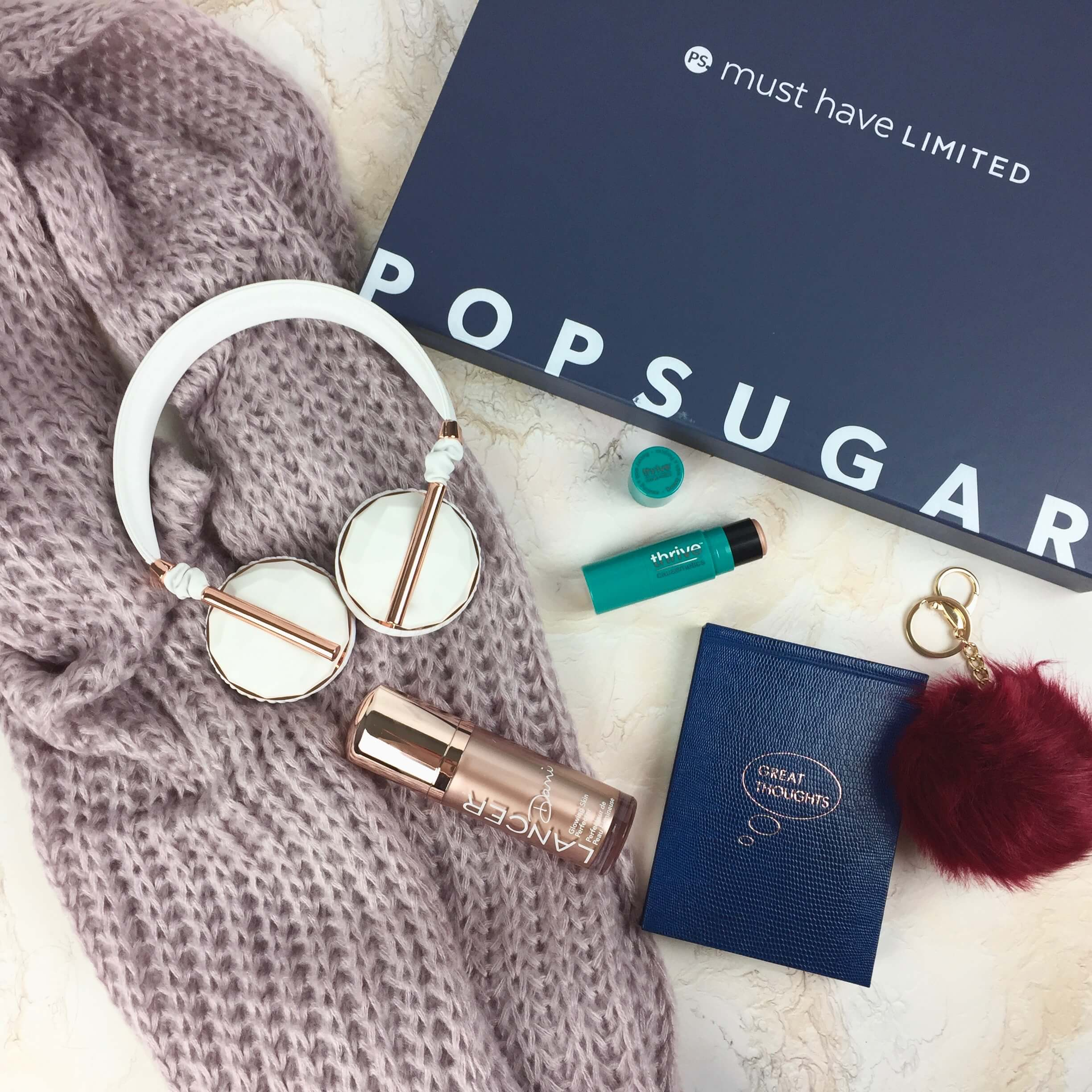 Popsugar Must Have Fall 2016 Limited Edition Box Review