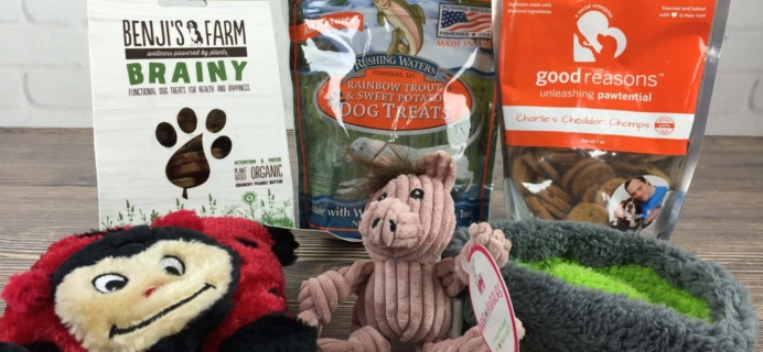 PupJoy August 2016 Subscription Box Review + Coupon