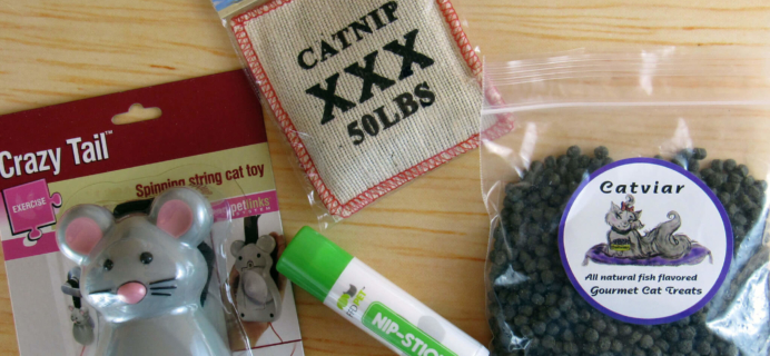RescueBox Cat August 2016 Subscription Box Review