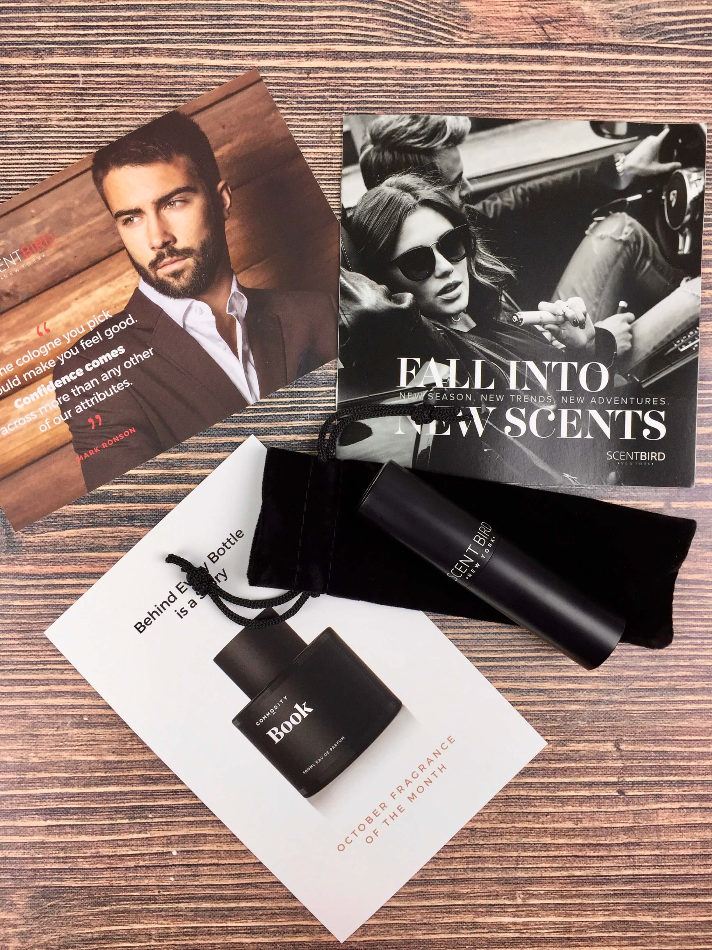 September 2016 Scentbird for Men Subscription Review & Coupon