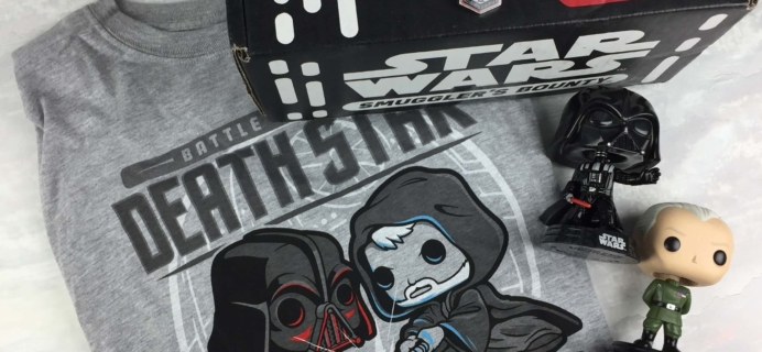 Smuggler's Bounty September 2016 Subscription Box Review – DEATH STAR!
