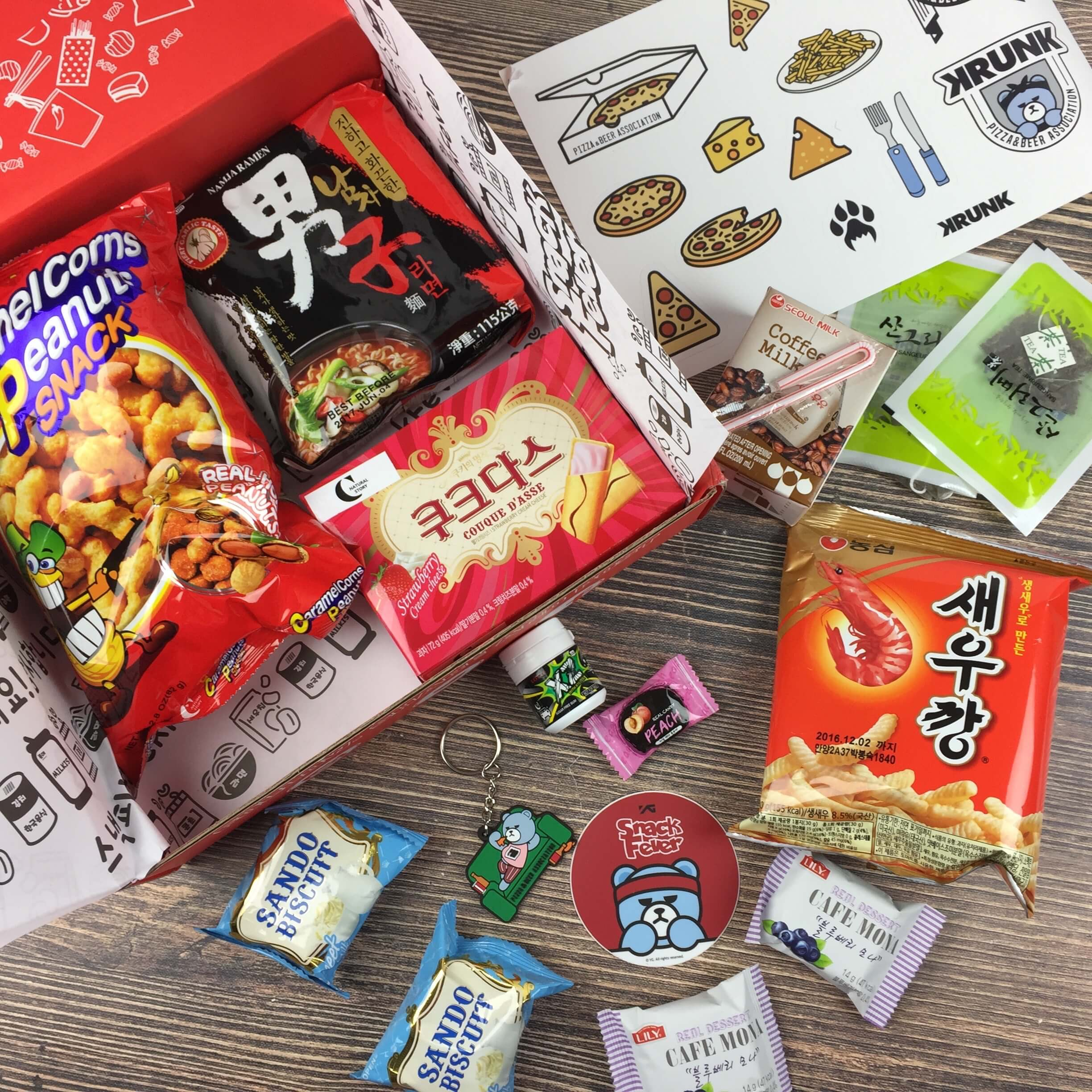 September 2016 Snack Fever Subscription Box Review + Coupon
