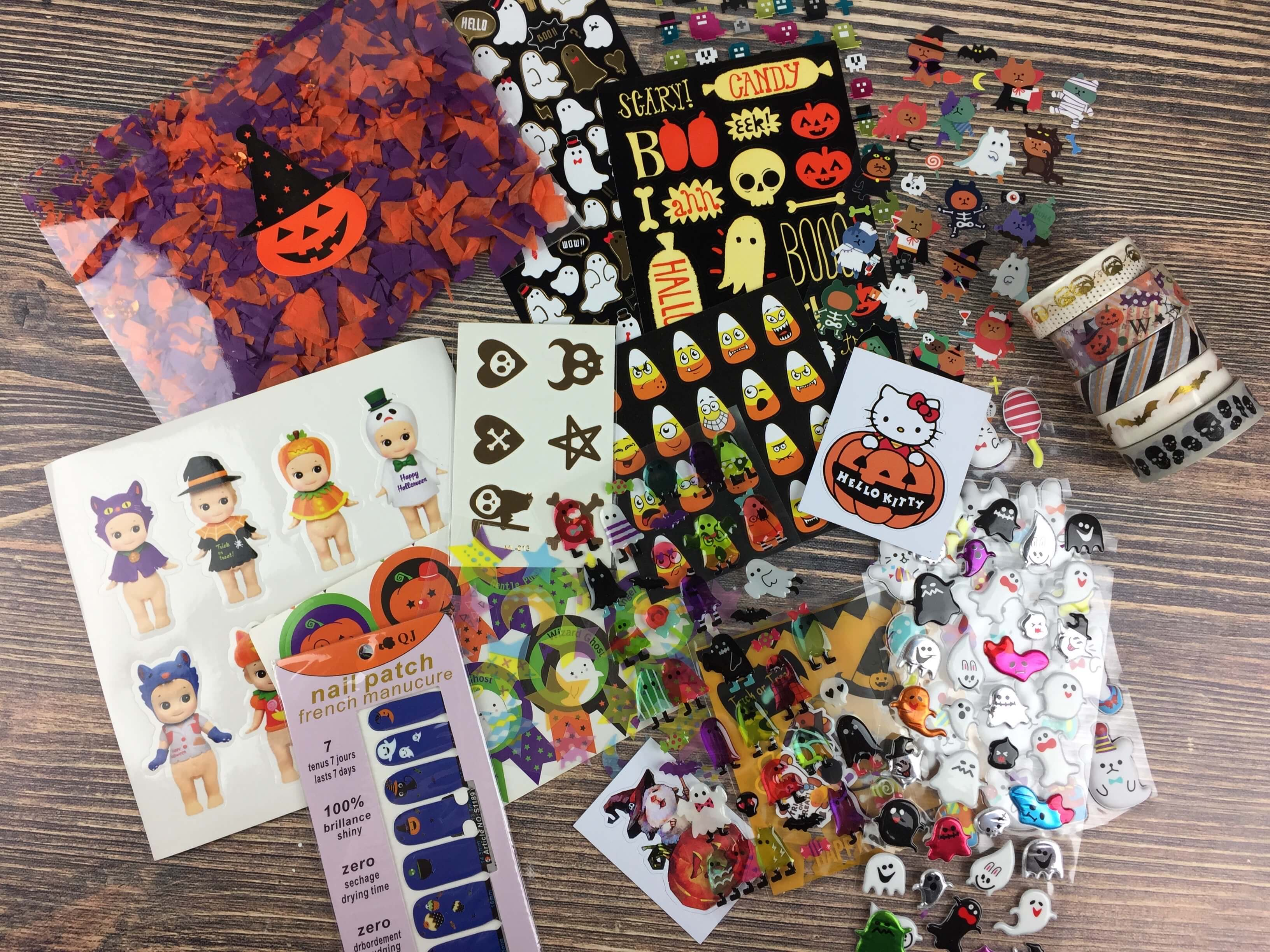 Stickii Club Halloween Limited Edition Box Review – September 2016