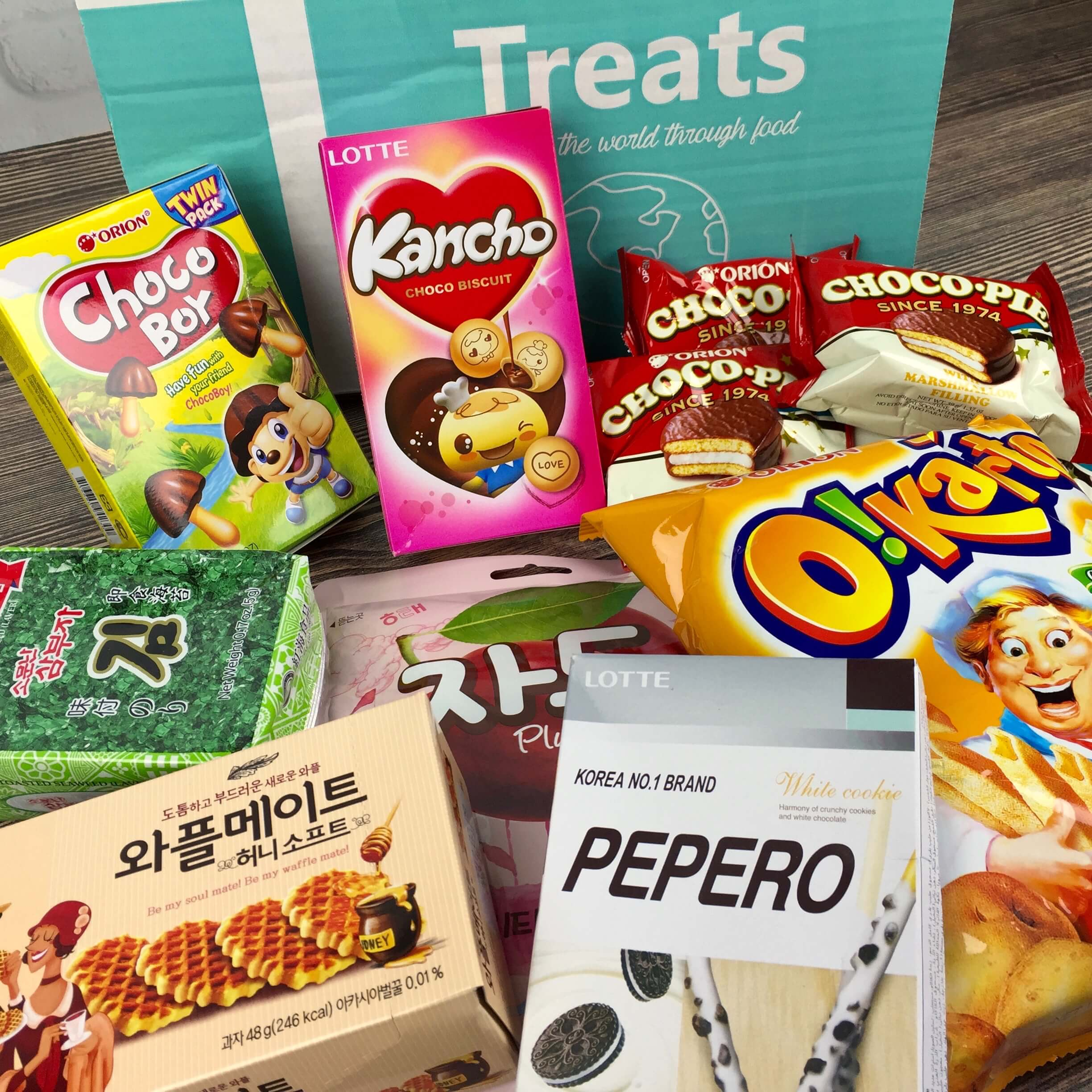 Treats Box September 2016 Review & Coupon – South Korea!