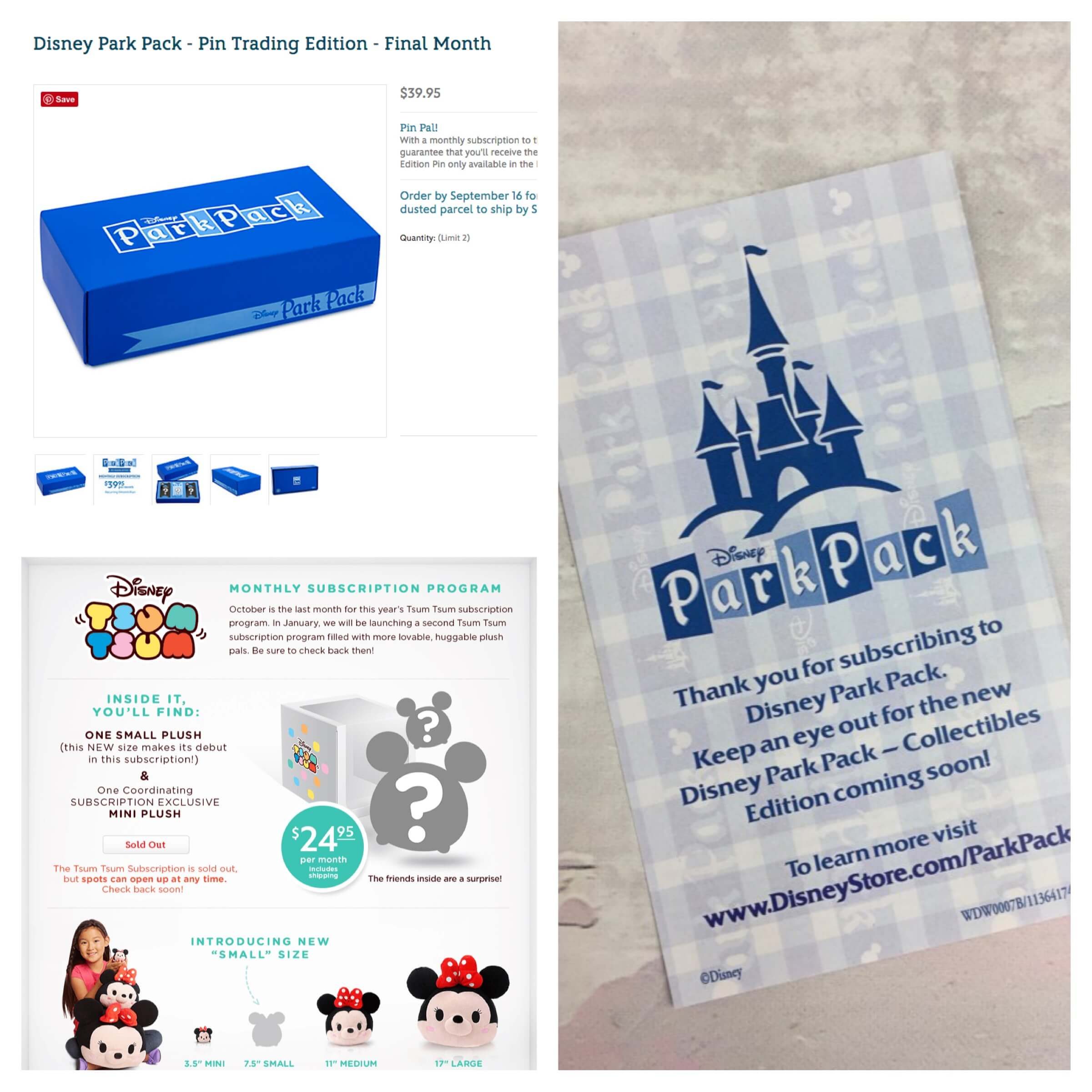 Disney Subscriptions Update: Pin Trading Edition & Tsum Tsum Subscriptions Ending, New Ones Coming!